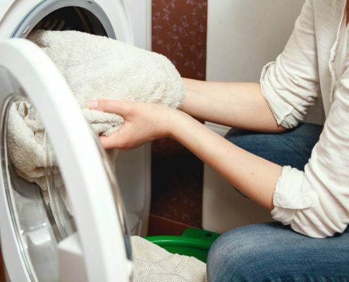 Trocknertücher für den Waschtrockner