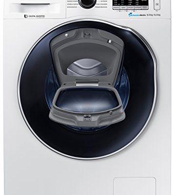 Samsung-WD80K5400OWEG Waschtrockner mit Nachlegefunktion