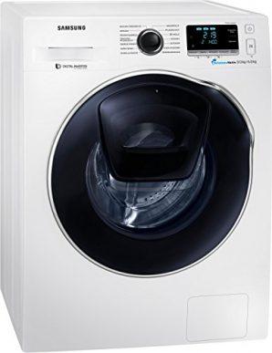 Samsung wd91k6404ow eg Umfangreich ausgestatteter Samsung Waschtrockner