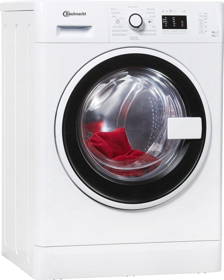 bauknecht watk champion 8 6 waschtrockner waschmaschine. Black Bedroom Furniture Sets. Home Design Ideas