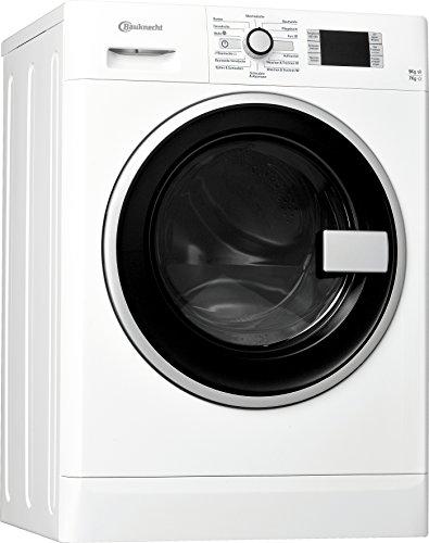 Bauknecht WATK Prime 9716 Waschtrockner / Energieeffizienzklasse A / Startzeitvorwahl und Restzeitanzeige / Mischwäsche und Wolle Programm / 1224 kWh/Jahr / weiß