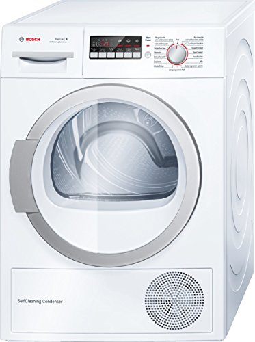 Bosch WTW86271 Wärmepumpentrockner / A++ / 8 kg / Weiß / Selbstreinigender Kondensator