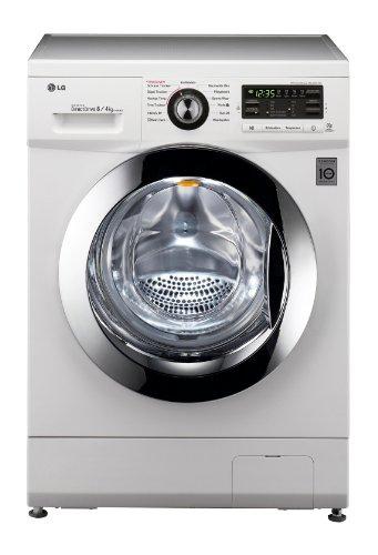 LG Electronics F1496AD3 Frontlader Waschtrockner / B / 62 kg / Weiß / 6 Motion DirectDrive / Smart Diagnosis