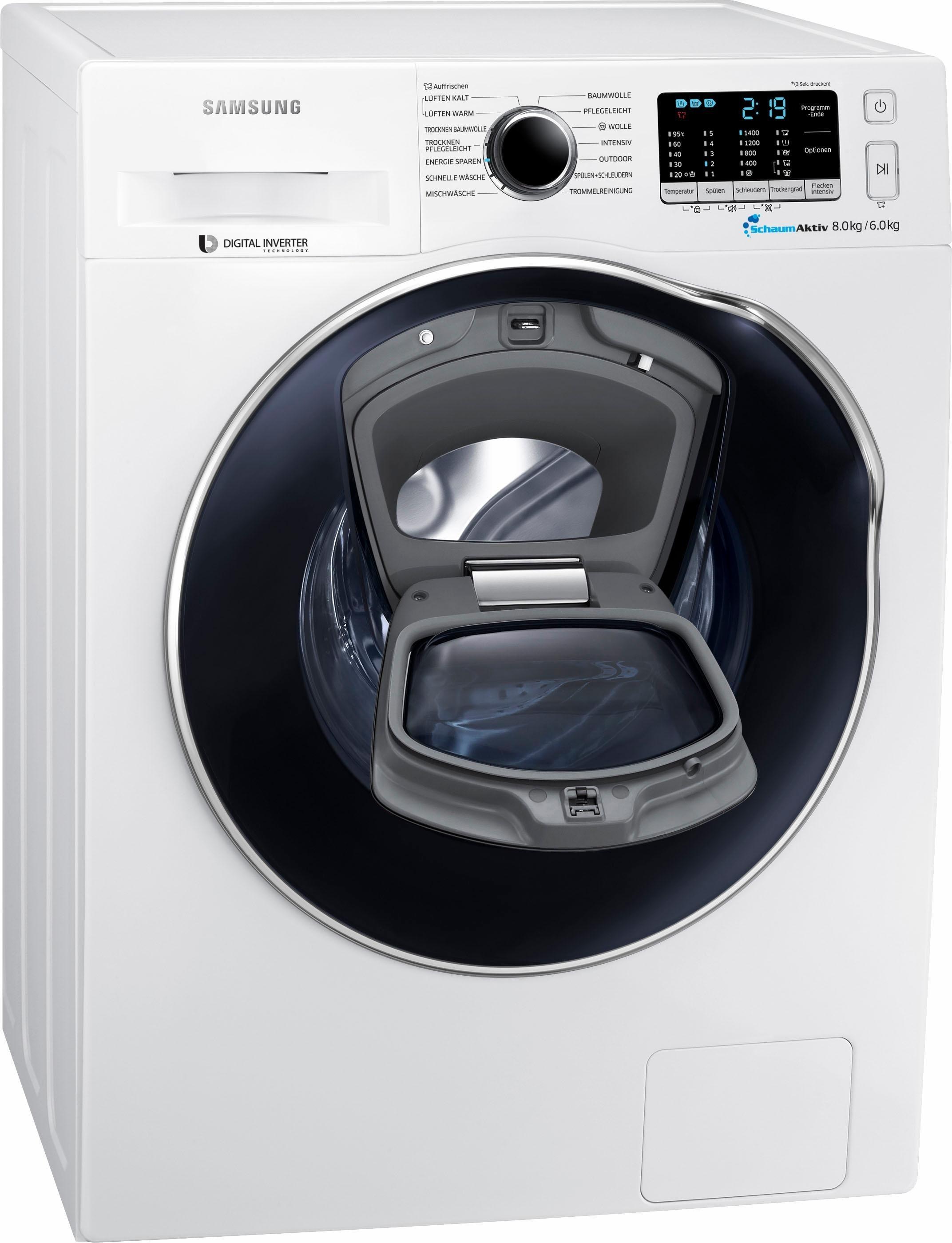 Samsung wd80k5400ow eg Waschtrockner im Test 2018