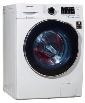 Samsung wd70j5400aw eg Waschtrockner Frontansicht