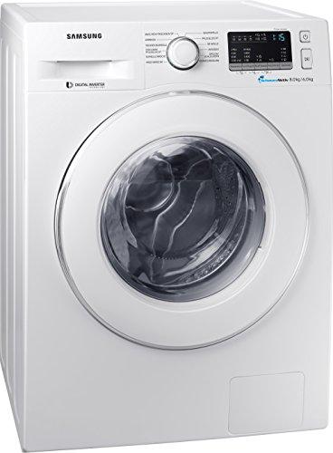 Samsung WD80M4433IW/EG Waschtrockner/ 60 cm Höhe /Digital Inverter Motor mit 10 Jahren Garantie