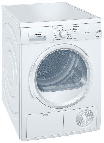 Siemens iQ300 WT46E103 iSensoric Kondenstrockner / B / 7 kg / Weiß / softDry-Trommelsystem / TouchControl Tasten / Knitterschutz