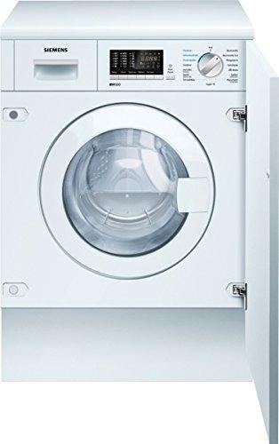 Siemens WK14D541 iQ500 Waschtrockner / 1100 kWh / Großes Display mit Endezeitvorwahl / weiß