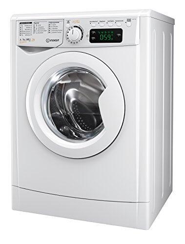 Indesit EWDE 71680 W DE Waschtrockner/952 kWh/MyTime Täglich-Schnell-Programme unter 1 Std/Aquastopp/1600 Umin/weiß