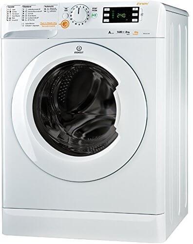 Indesit XWDE 861480X W DE Innex Waschtrockner / 1088 kWh/Jahr / 10000 Liter/Jahr / 8 kg Waschen / 6 kg Trocknen / Inverter-Motor / weiß