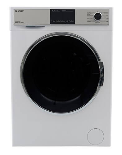 Sharp ES-HDH9147W0-DE Waschtrockner/A/1400 UpM/9kg/Touch-Display/Schnellwaschprogramm/15 verschiedene Programme/Weiß