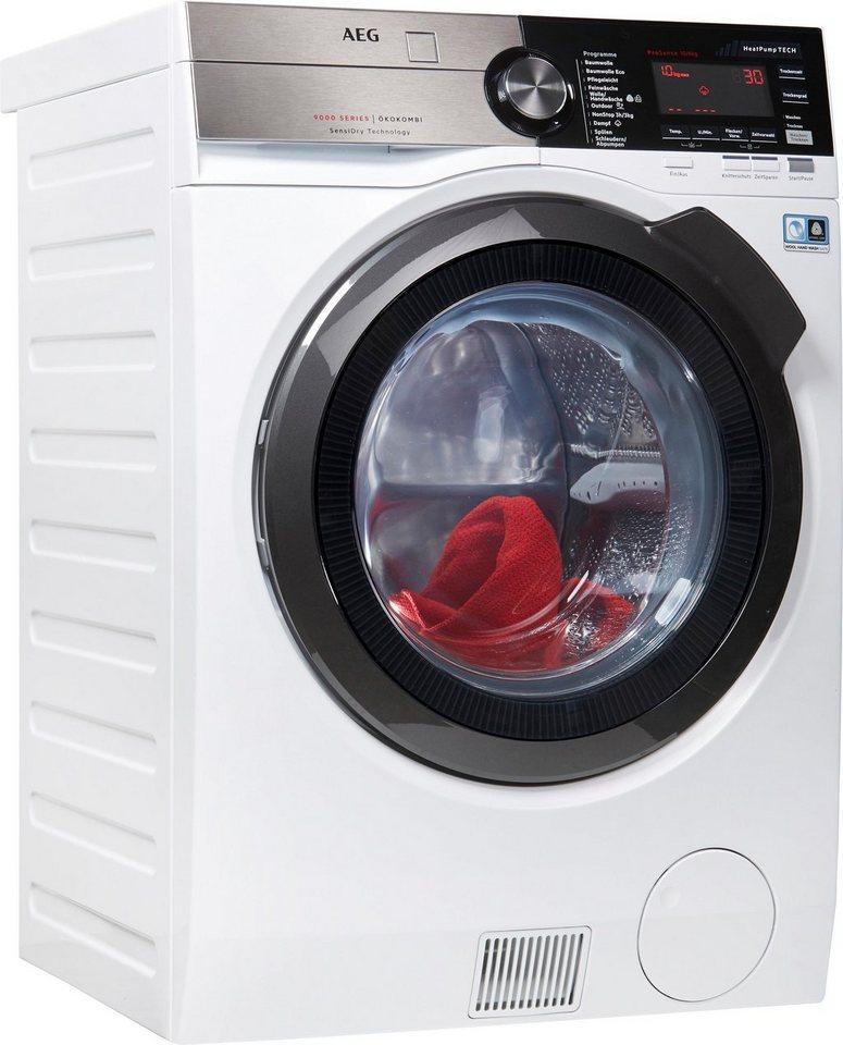 AEG Waschtrockner 9000 L9WE86605, 10 kg/6 kg, 1600 U/Min