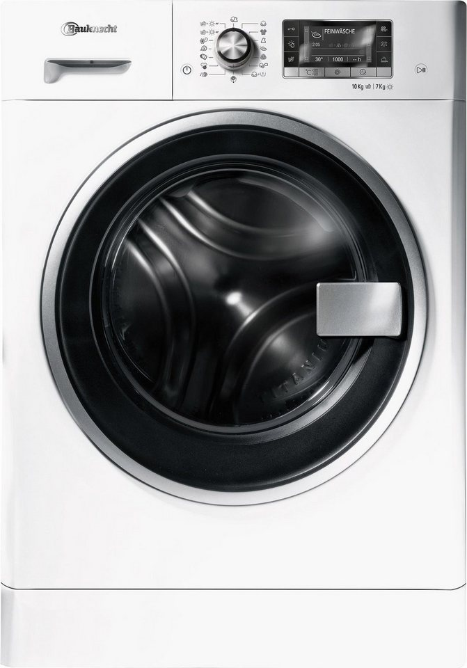 BAUKNECHT Waschtrockner WATK PRIME 10716, 10 kg/7 kg, 1600 U/Min