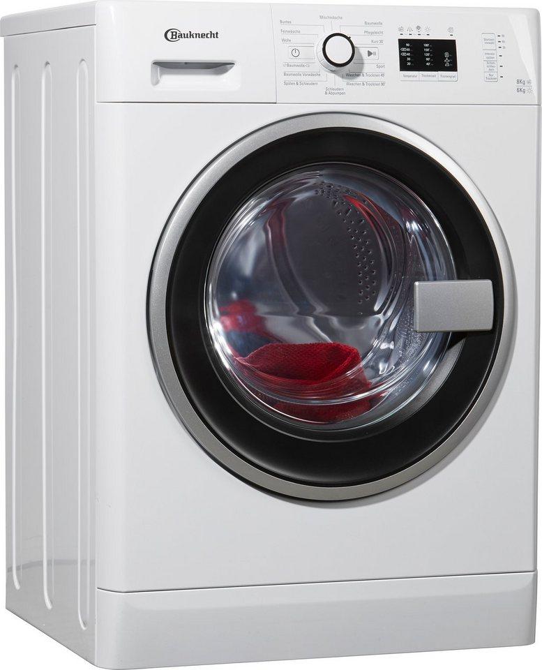 BAUKNECHT Waschtrockner WATK Prime 8614, 8 kg/6 kg, 1400 U/Min