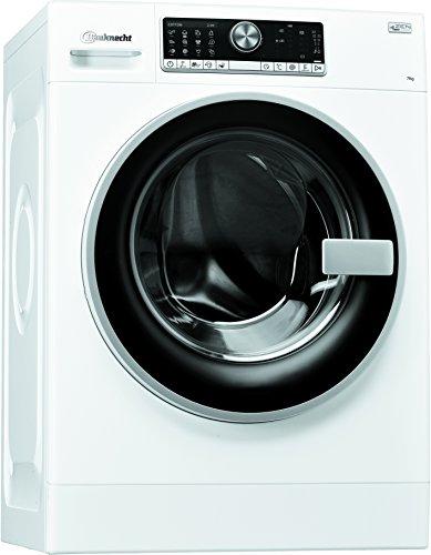 Bauknecht WM Trend 724 ZEN Waschmaschine Frontlader/A+++ B/1400 UpM/7 kg/extrem leise mit 48 db/ZEN Direktantrieb/weiß