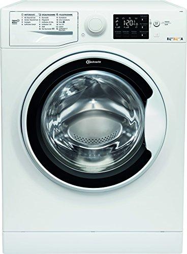 Bauknecht WT 86G4 DE Waschtrockner/EEK A/8kg Waschen/6kg Trocknen/1400 UpM/Nachlegefunktion/Mengenautomatik/Mehrfachwasserschutz+/SteamCare Knitterschutzprogramme