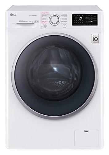 LG Electronics F 14WD 96EH1 Waschtrockner/A/1224 kWh/Jahr/1400 UpM/9 kg/11800 L/Aqua-Lock Vollwasserschutz/Weiß