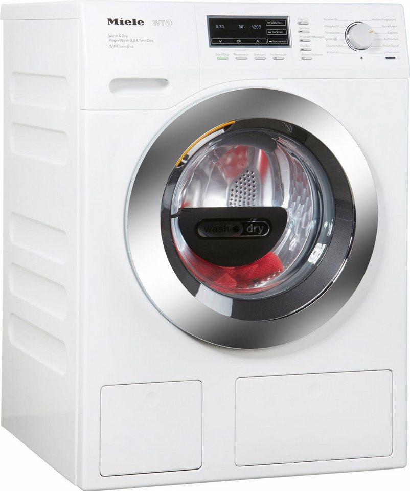MIELE Waschtrockner WTH 730 WPM, A, 7 kg / 4 kg, 1.600 U/Min