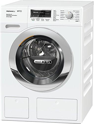 Miele WTZH 730 WPM Waschtrockner-/Waschmaschine/(8kg)/mit Trockner (5kg)/Energieklasse A (1072 kWh/Jahr)/1600 UpM/Automatische Dosierung/Waschen und Trocknen in unter 3 Std. mit Quick Power