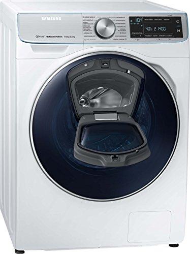 Samsung WD7900 WD91N740NOA/EG QuickDrive Waschtrockner/a/25200 kWh/Jahr/1400 UpM/9 kg/10800 L/jahr/4 kg Waschen und Trocknen in NUR 3 Stunden/AddWash/Weiß