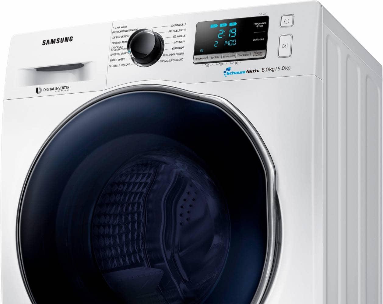 Samsung wd j a aw eg waschtrockner im test
