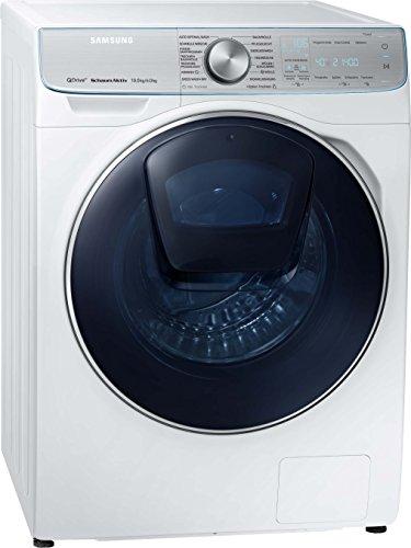 Samsung WD8800 WD10N84INOA/EG QuickDrive Waschtrockner/a/28000 kWh/Jahr/1400 UpM/10 kg/12000 L/jahr/5 kg Waschen und Trocknen in NUR 3 Stunden/Weiß