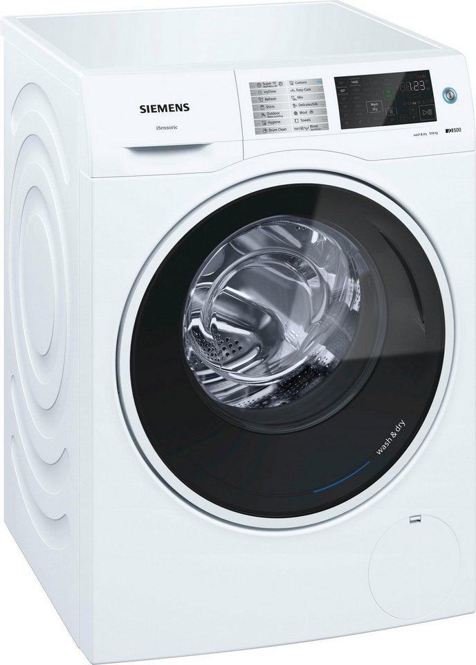 SIEMENS Waschtrockner iQ500 WD14U540, 10 kg/6 kg, 1400 U/Min