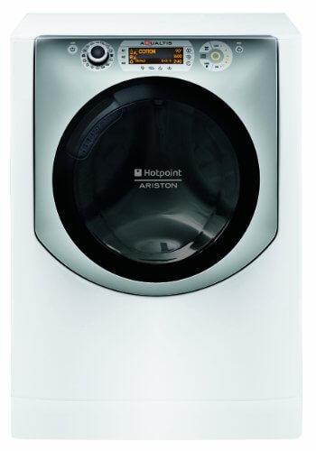 Hotpoint AQ113DA 697 EU/A Waschmaschine FL / A+++ / 1600 UpM / 11 kg / Dynamic Inverter Motor besonders leise, langlebig / Eco Tech / 10 Jahre Motor Garantie / weiß / silber