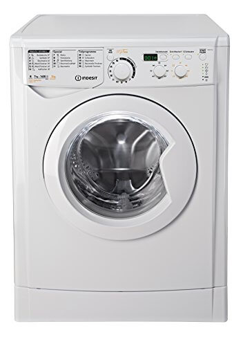 Indesit EWDD 7145 W DE Waschtrockner / 1134 kWh / My Time Täglich-Schnell-Programme unter 1 Std / Aquastopp / weiß