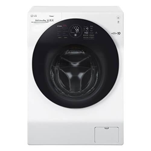 LG Electronics F 14WM 9GS Waschmaschine Frontlader/A+++/128 kWh/Jahr/1400 UpM/9 kg/weiß/Intelligente Beladungserkennung/Steam Wash Technologie