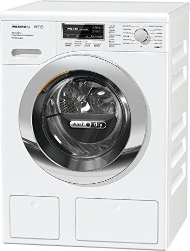 Miele WTH 720 WPM Waschtrockner-/Waschmaschine/(7kg)/mit Trockner (4kg)/Energieklasse A (896 kWh/Jahr)/1600 UpM/Automatische Dosierung/Waschen und Trocknen in unter 3 Std. mit Quick Power
