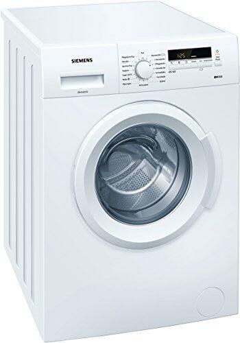 Siemens iQ100 WM14B222 iSensoric Waschmaschine/1400 UpM/6 kg/Weiß/SpeedPerfect/WaterPerfect/Super15