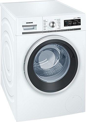 Siemens iQ700 WM16W540 iSensoric Premium-Waschmaschine/A+++/1600 UpM/8kg/Weiß/VarioPerfect/Antiflecken-System/Selbstreinigungsschublade