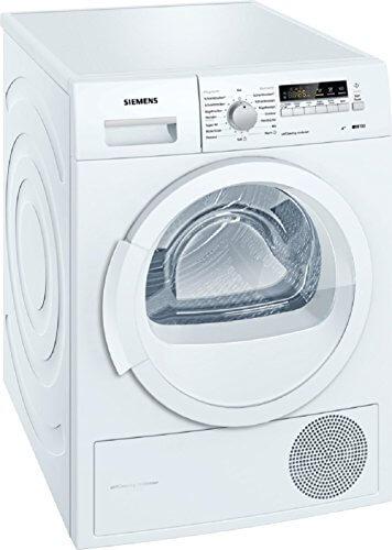 Siemens iQ700 WT46W261 iSensoric Wärmepumpentrockner/A++/8 kg/Weiß/Selbstreinigender Kondensator/softDry-Trommelsystem/Super40