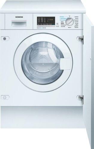 Siemens WK14D540 Einbauwaschtrockner/BAB/1400 UpM/6 kg/1.02 kWh/Weiß/aquaStop