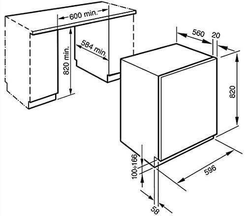 Smeg lsta147integriertem Ladekabel Bevor A weiß Waschmaschine mit Wäschetrockner–Waschmaschinen mit Wäsche (Belastung vor, integriert, weiß, links, Knöpfe, drehbar, LED)