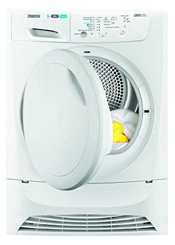 Zanussi ZDH7332PZ Wärmepumpentrockner/A+ / kWh/Fassungsvermögen 1-7,0 kg/Füße Verstellbare Füße/weiß