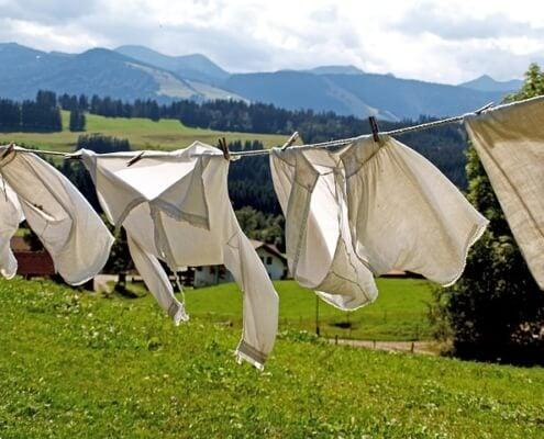 10 Tipps zum Wäsche trocknen
