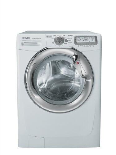 Hoover WDYN 9646 PG Waschtrockner / AAA / 1.53 kWh / 9 kg / 1400 UpM / weiß