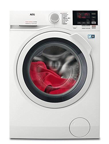 AEG L7WB64474 Waschtrockner / DualSense – schonende Pflege / 7,0 kg Waschen / 4,0 kg Trocknen / energiesparend / Mengenautomatik / Nachlegefunktion / ProSteam - Auffrischfunktion / Kindersicherung / 1