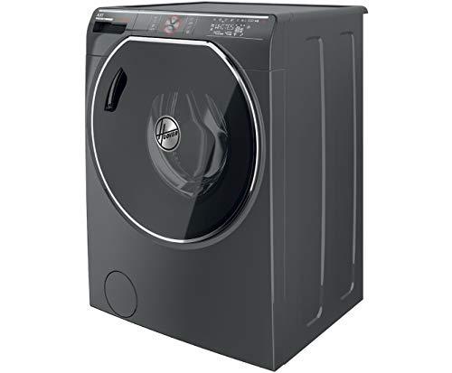 Hoover AWDPD 496LHR/1-S Waschtrockner - 9 kg Waschen / 6 kg Trocknen,Anthrazit, 1400 U/Min