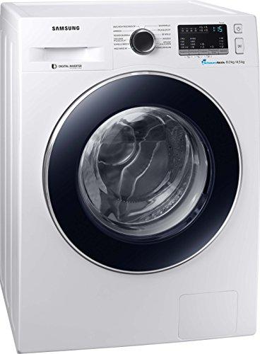 Samsung WD4000 WD80M4A33JW/EG Waschtrockner/a/17600 kWh/Jahr/1400 UpM/8 kg/8400 L/jahr/SchaumAktiv/AirWash/Weiß