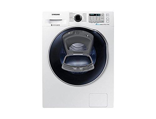 Samsung wd5500autonome Belastung Bevor A weiß-Waschmaschinen mit Wäsche (Belastung vor, autonome, weiß, links, Knöpfe, drehbar, LED)