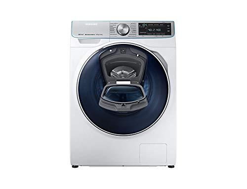 Samsung WD7800 Waschmaschine, freistehend, Frontlader, Silber, Weiß