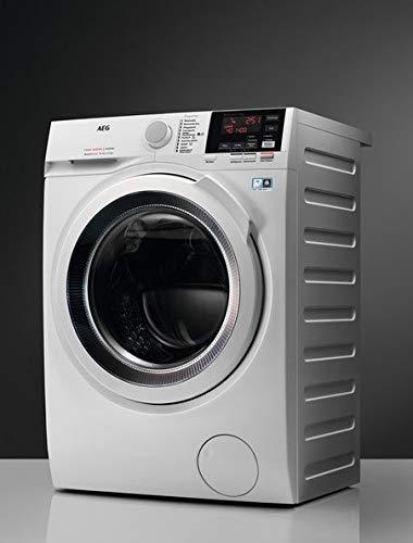 AEG l7wb65689autonome Belastung Bevor A weiß–Waschmaschinen mit Wäsche (Belastung vor, autonome, weiß, links, Knöpfe, drehbar, LED)