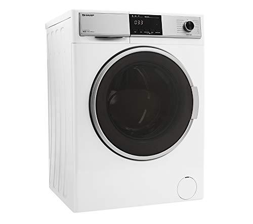 Sharp ES-HDB8147W0-DE Waschtrockner, weiß